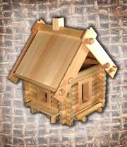 Деревянный конструктор «Зодчий»,  деревянные игрушки ТМ Левша