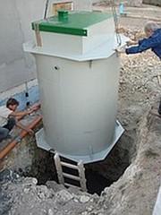 Станция очистки бытовых сточных вод