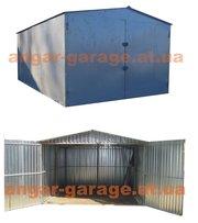 металлический гараж сборно-разборной из металла, разных размеров