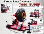 Стенд шиномонтажный   автомат для колёс грузового транспорта 14-46/56
