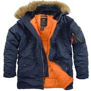 Очень теплая куртка-Аляска