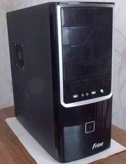 Продам брендовый системный блок,  в новом корпусе Intel 2.4GHz/3GB/320G