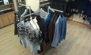 Торговое оборудование (стеллажи) б/у для одежды (в любой комплектаци