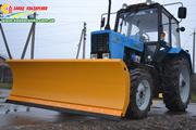 Дорожный отвал лопата новый,  убирает снег на трактор МТЗ 80/82