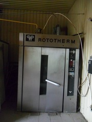 Печь хлебопекарская ротационная Werner&Pfleiderer (Rototherm) RE1080 б/у
