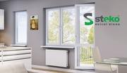 """Металлопластиковые окна """"Steko"""""""