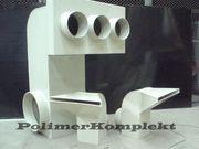 Вентиляционные системы из химически стойких материалов