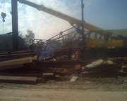 Демонтаж металлических конструкций на металлолом