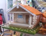 Деревянный Дом,  баня,  беседка,  Сумы